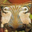 Swans Cushion Panel Needlepoint Kit additional 1
