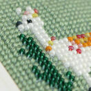 Lulu Llama Mini Beadwork Embroidery Card Kit additional 3