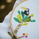 Jungle Animal Fun Height Chart Cross Stitch Kit additional 2
