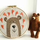 Bear Hoop Embroidery Kit additional 2