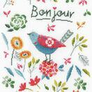 Flower Bird Cross Stitch Kit additional 1