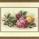 Rose Cuttings Cross Stitch Kit additional 2