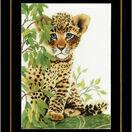 Little Panther Cross Stitch Kit additional 2