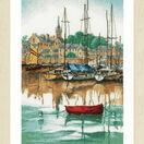 Sunrise At Yacht Harbour Cross Stitch Kit additional 2