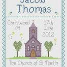 Christening By Nia Cross Stitch Kit additional 6