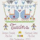 Twins Cross Stitch Kit additional 4