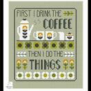 Coffee First Cross Stitch Kit additional 2