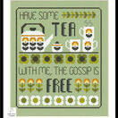 Tea & Gossip Cross Stitch Kit additional 2