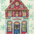 Holiday Home Cross Stitch Kit additional 1