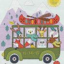 Little Adventurer Birth Record Cross Stitch Kit additional 1