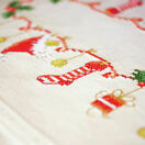 Christmas Stockings Embroidery Table Runner Kit additional 2