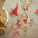 Jumping Reindeer Table Runner Embroidery Kit additional 2