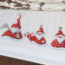 Three Wise Christmas Gnomes Embroidery Table Runner Kit additional 2