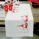 Three Wise Christmas Gnomes Embroidery Table Runner Kit additional 1