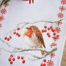 Robin & Berries Cross Stitch Table Runner Kit additional 2