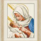 Maria And Jesus Cross Stitch Kit additional 2