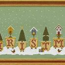 Christmas Pots Cross Stitch Kit additional 3