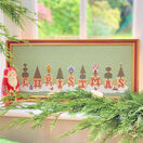 Christmas Pots Cross Stitch Kit additional 1