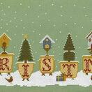Christmas Pots Cross Stitch Kit additional 2