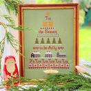 Christmas Tree Cross Stitch Kit additional 1