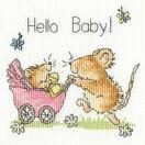 Hello Baby! Cross Stitch Card Kit additional 3