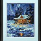 Winter Sky Cabin Tapestry Kit additional 2