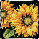Dramatic Sunflower Tapestry Panel Kit additional 3
