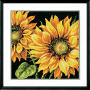 Dramatic Sunflower Tapestry Panel Kit additional 2