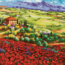 Tuscan Poppies Tapestry Kit additional 1