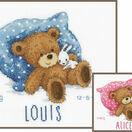 Sweet Bear Birth Sampler Cross Stitch Kit additional 3