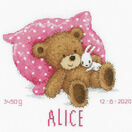 Sweet Bear Birth Sampler Cross Stitch Kit additional 2