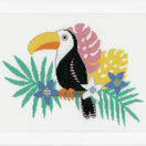 Bright Toucan Cross Stitch Kit additional 2