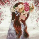 The Day When Flowers Cross Stitch Kit additional 1