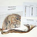 Bunny Cross Stitch Kit by Martha Bowyer additional 2