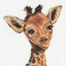 Baby Giraffe Cross Stitch Kit by Martha Bowyer additional 1