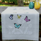 Butterfly Dance Cross Stitch Embroidery Table Runner Kit additional 1