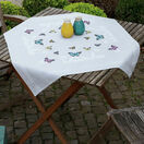 Butterfly Dance Cross Stitch Tablecloth Kit additional 2