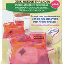 Desk Needle Threader - Pink additional 2