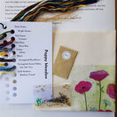 Poppy Meadow Embroidery Kit additional 3