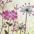 Purple Garden Embroidery Kit additional 2