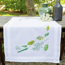 Leaves And Grass Embroidery Table Runner Kit additional 1