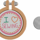 I Love Sewing Magnetic Needle Minder additional 3