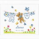 Birth Bear Cross Stitch Kit additional 2
