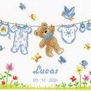 Birth Bear Cross Stitch Kit additional 1