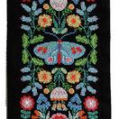 Folk Floral Wall Hanging Cross Stitch Kit additional 2