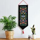 Folk Floral Wall Hanging Cross Stitch Kit additional 1