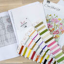 August Bouquet Cross Stitch Kit additional 2