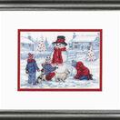 Building A Snowman Cross Stitch Kit additional 2