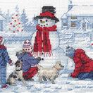 Building A Snowman Cross Stitch Kit additional 1