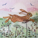 Hare Meadow Embroidery Kit additional 1
